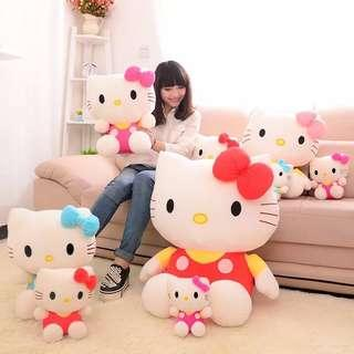 🚚 Birthday gift - Hello kitty jumpsuit soft toy 80cm Red or Pink