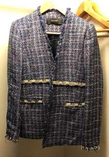 Zara Jacket in Blue