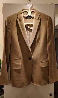 Massimo Dutti slim fit wool blazer