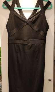 Armani exchange bandage dress