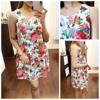 Floral Flowy Summer Dress