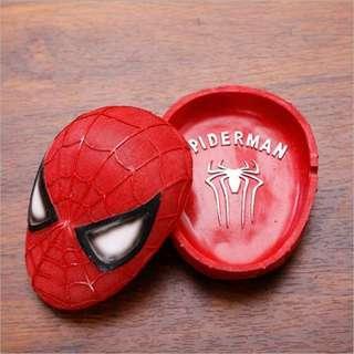 🚚 蜘蛛人煙灰缸 造型擺飾