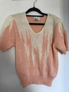 Vintage Angora mix knit sweater