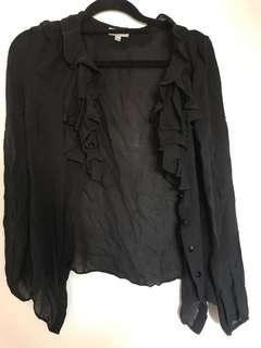 Jigsaw 100% silk blouse