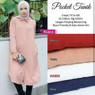🚚 Pocket  tunik