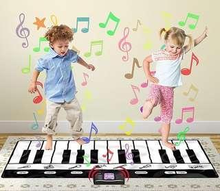 BN Jumbo 24 Key Greenpro Portable Electronic Keyboard Floor Piano Mat By Click N' Play