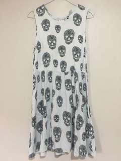 Dress Skull H&M Very Good Condition