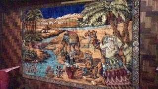 Old Arabic Designed Carpet