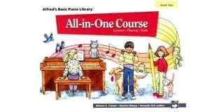 Alfred's All in One Piano Course for Children