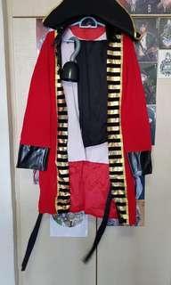 🚚 Captain Hook Costume