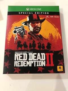 🚚 Red dead redemption 2 special edition Xbox one and PS4