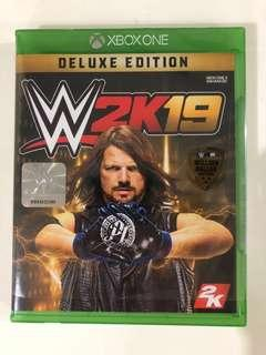 🚚 WWE 2K19 Deluxe Edition Xbox and PS4