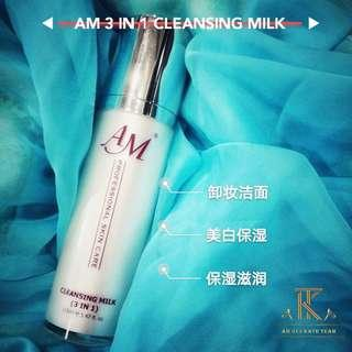 AM Cleansing Milk 3in1