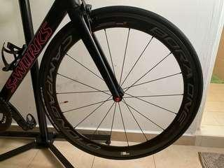 Bora one Campagnolo 50mm clincher carbon wheelset