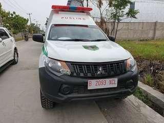 Jual ambulance 4x4 strada Triton
