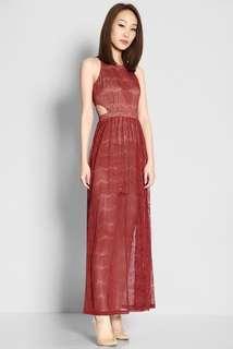 🚚 LEIGHTON SAVANNAH MAXI DRESS