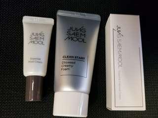 全新JungSaemMool 3 件sample set (cleanser, mool cream & intensive cream)