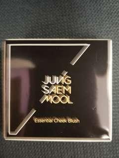 全新韓名化妝師自家品牌JungSaemMool cheek blush