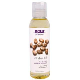 🚚 NOW Castor Oil 118ml