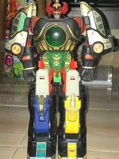 Super Sentai Power rangers thunder megazord