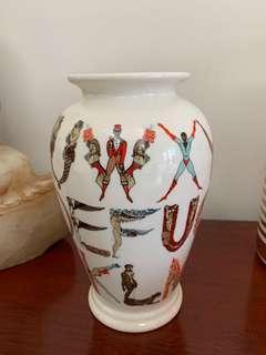 Supreme alphabet vase