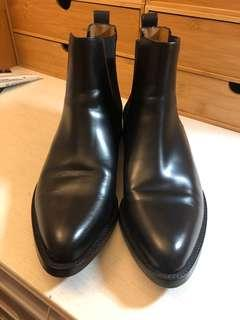 LV牛皮短靴