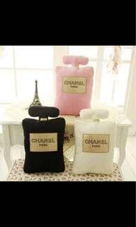 🚚 Chanel Perfume Pillow/Cushion