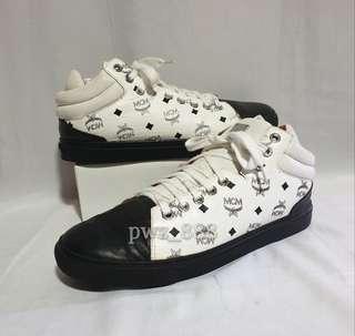 MCM Carryover Monogram Sneakers Size 39
