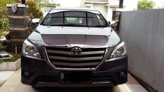 Toyota innova type G 2014 bensin very good condition