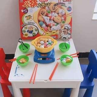 🚚 (現貨)兒童火鍋玩具 超好玩的火鍋玩具組,合創意仿真火鍋玩具
