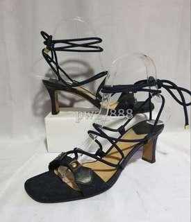 LOUIS VUITTON Strappy Heels Size 36 1/2