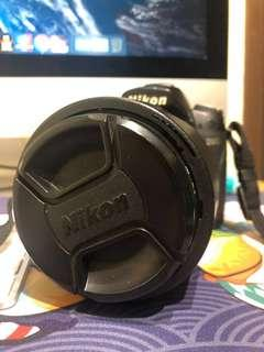 Nikon D90 with head
