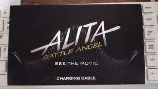 Alita Battle Angle Iphone Charging Cable