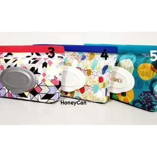 (現貨) Huggies Clutch N Clean 濕紙巾袋 (連一包32張原裝濕紙巾)
