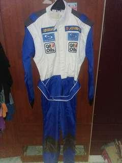 Racing suit glove shoes