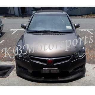 Honda Civic FD TypeR Bodykit With Spray Color