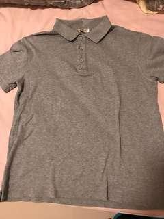 Men polo jersey 22nd avenue grey