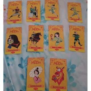 Disney Mulan Bookmarks Maggi