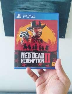 Red Dead Redemption 2 (unused codes)