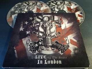 🚚 Soil (live in London) cd/dvd