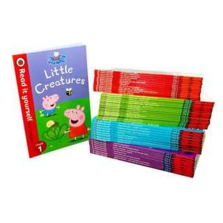 🚚 Ladybird Read It Yourself Collection Bookset (50 books)