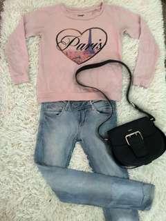 Sweatshirt light pink