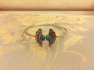 土耳其石惡魔之眼蝴蝶手環🌺