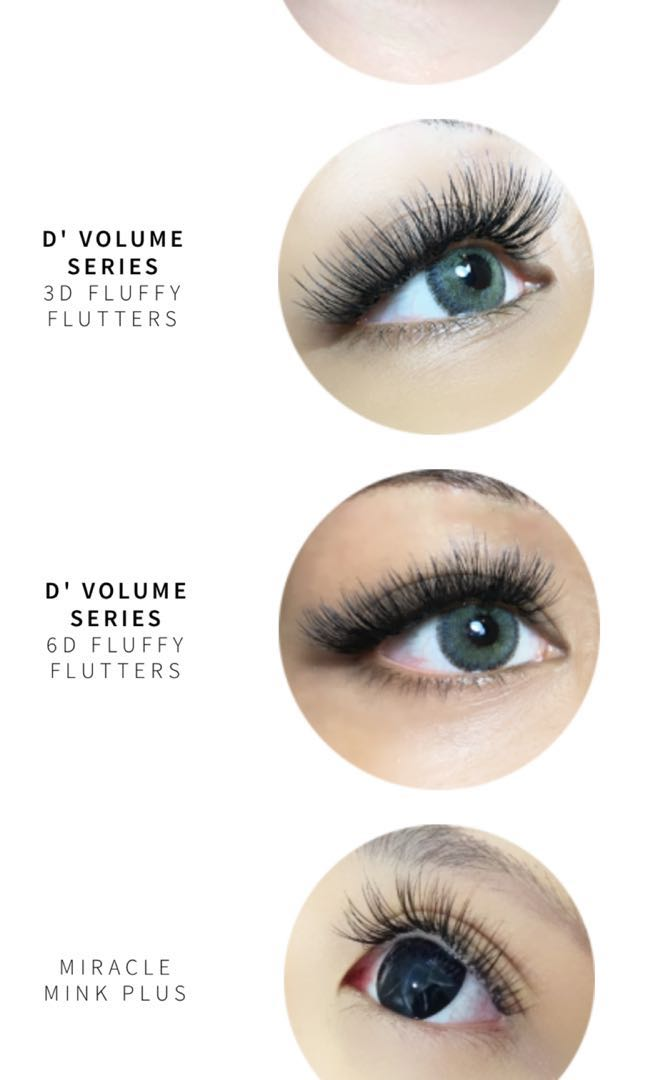 513491bf43b 100 strands Eyelash Extensions at Milly's, Health & Beauty, Makeup ...