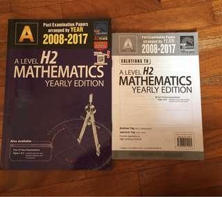 A Level TYS for H2 Math, Biology, Chemistry