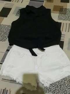 Bundle collar/short