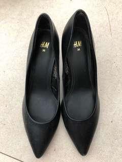 H&M Black High Heels