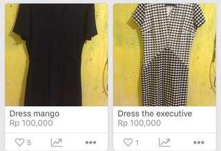 Dress mango & executive