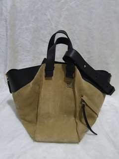 Loewe Hammock. Natural Suede. Size L. Excellent condition.