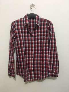 Kemeja Kotak Kotak Tartan shirt